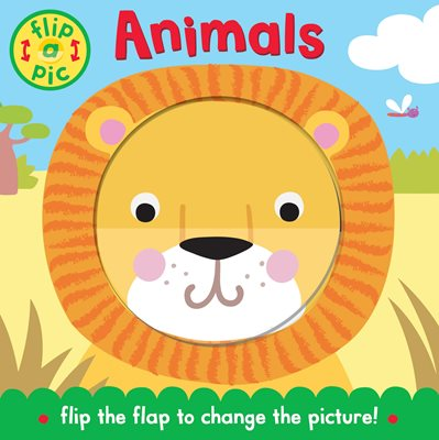 Book cover for Flip-a-Pic: Animals